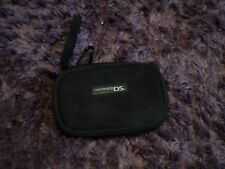 BLACK NINTENDO DS LITE CARRY CASE ZIP-UP