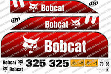 Bobcat 325d MINI DIGGER DECALCOMANIA STICKER SET