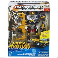 TRANSFORMERS PRIME BEAST HUNTERS BATTLEMASTER TALKING BUMBLEBEE ACTION FIGURE