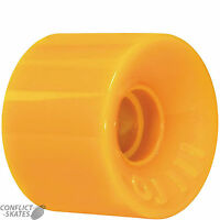 "OJ III ""Hot Juice Mini"" 55mm Skateboard Wheels Santa Cruz ORANGE 78a 1970s Soft"