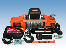 ELECTRIC WINCH 24V 4x4 13500 lb SL WINCHMAX BRAND - SYNTHETIC ROPE - WIRELESS