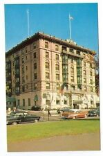 Waterbury, Connecticut THE ROGER SMITH Hotel OLD CARS Vintage Postcard