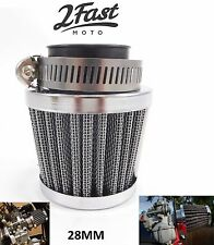 Kawasaki AE50 AR50 AE-50 Custom Chrome Air Filter 28mm