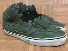 VTG�� VANS Mountain Edition Military Army Olive Green Leather Padded Boots 11.5