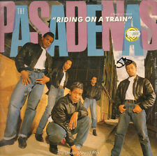 THE PASADENAS Riding into blue En A Tren Metro Mix CBS PASA QT2 1988 Uk