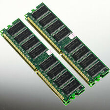 Hynix Low Density 2GB 2X 1GB PC2700 DDR333 MEMORY 333MHZ DIMM for Dell Computer