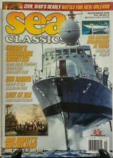 Sea Classics September 2016 Canada's Courageous Corvettes FREE SHIPPING sb