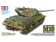 TAMIYA WWII US Tank Destroyer M10 Mid Prod Model Kit 1/35 Scale