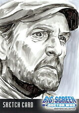 Dr Doctor Who Big Screen Additions Sketch Card by Chris Henderson /2