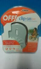 OFF! Clip-on  Battery Powered  Fan Odorless Mosquito Repellent  Stater Pack Kit