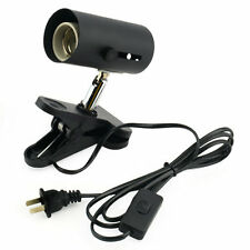 Aquarium Reptile Light Holder Clamp Ceramic Infrared Emitter Heat Lamp Stand MC