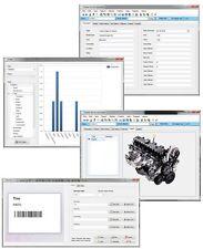 Home Mechanic Auto Part Engine Car Restoration Insurance Inventory Software CD