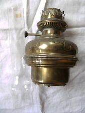 Lampe à pétrole ancienne en cuivre LEMPEREUR & BERNARD