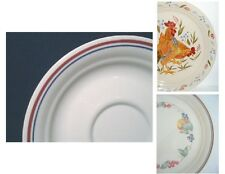 """CORELLE Sandstone 6 1/4"""" CUP SAUCER  *Abundance OR Country Morning / Blue Red"""