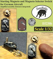 Taurus Models 1/32 German Starting Magneto&Selector Switch(Fasteners Integrated)