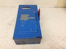 Eaton Cutler Hammer DG323NGB 100 Amp 240 VAC General Safety Switch Disconnect