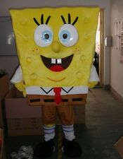 NEW SpongeBob SquarePants Costume Mascot Fancy Dress Adult Size :FE