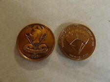 CHALLENGE COIN UNITED STATES ARMY PARACHUTE TEAM GOLDEN KNIGHTS SINCE 1959