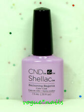 CND Shellac Gel Polish UV Color Gel 90797- Beckoning Begonia