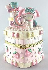 My Melody Accessory Case Decoration Cake Porcelain Chiristmas Sanrio Japan New