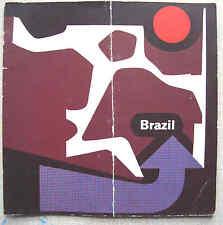 BRAZIL 1959 promotional booklet many pix English Text Brazilian Trade Bureau VGC