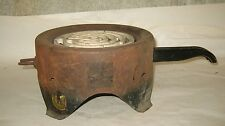 VTG Regent Hot Plate! Electric Warming Mid Century Metal Heating Stove Old Rusty