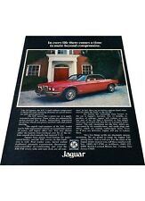 1976 Jaguar XJ6 XJC Coupe  Vintage Advertisement Car Print Ad J409