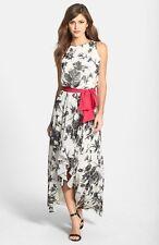 ELIZA J PRINT HIGH/LOW MAXI  DRESS sz  14