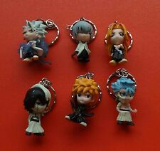 lot of 6 BLEACH  Keychain Key Chain Ring Keyring  pendant pvc figure 2""