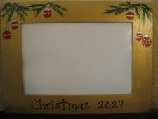 Christmas 2016 family holiday baby ornaments holiday gift photo picture frame