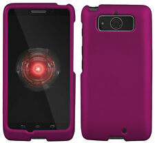 PURPLE RUBBERIZED HARD SHELL CASE PROTEX COVER FOR MOTOROLA DROID MINI XT1030
