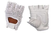 BRAND NEW* NET WEIGHT LIFTING PADDED LEATHER GLOVE'S TRAINING CYCLING GYM