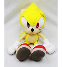 NWT Supersonic Sonic the Hedgehog Plush Backpack Bag Doll Licensed by Sega