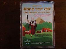 God's Top Ten 10 Commandments Bible Card Game