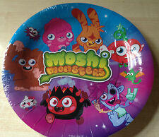 BNIP New Moshi Monsters Pack of 8 Party Paper Plates - 23cm Diameter