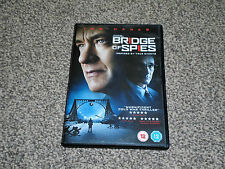 BRIDGE OF SPIES : 2016 TOM HANKS COLD WAR THRILLER DVD - IN VGC (FREE UK P&P)