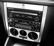 VW Golf Mk4 Jetta Bora Rabbit Brushed Aluminium Effect Radio Console 01