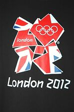 2012 London Olympics Adult Large Black T-Shirt (L United Kingdom UK Gymnastics)