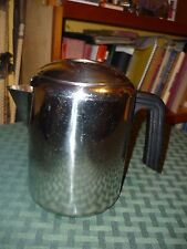 Vintage Farberware M4 4-6 cup stainless steel stove top coffee maker pot L7680