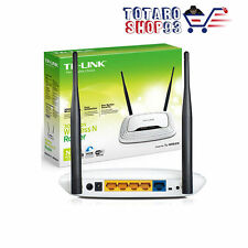 TPLINK TL-WR841N ROUTER WIFI 802.11n 300MBPS WIRELESS STREAMING HD SWITCH 4 LAN