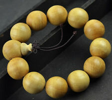 20MM Nice Natural Thuja Sutchuenens Beaded Bracelet For Cool Man and Fashion Man