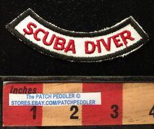 SCUBA DIVER TAB JACKET PATCH ~ 623
