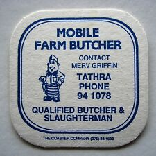 MOBILE FARM BUTCHER MERV GRIFFIN TATHRA 941078 COASTER