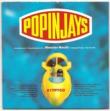 POPINJAYS MONSTER MOUTH 3 TRACK CD SINGLE IN CARD SLEEVE 1992