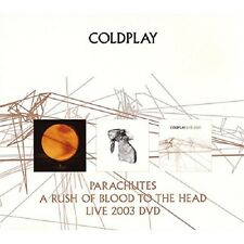 Coldplay Parachutes/A Rush Of Blood To The Head 2-CD+Live 2003 DVD Box Set NEW