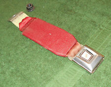1987 1988 1989 1990 1991 1992 1993 Mustang CONVERTIBLE RED REAR SEAT BUCKLE BELT