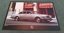 1978 1979 BENTLEY T2 SALOON UK SINGLE SHEET LEAFLET BROCHURE Rolls Royce