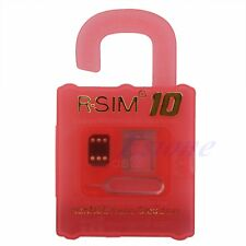 R-SIM 10 RSIM Nano Cloud Card For iPhone 4S 5 5S 5C 6 Plus 2G 3G 4G LTE iOS 8.x