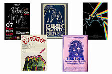 PINK FLOYD - SET OF 5 - A4 POSTER PRINTS # 2