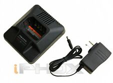 Rapid Charger for Motorola HNN9628 GP300 GP600 GP88 GTX800/900 LCS2000
